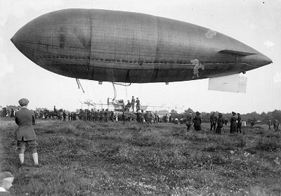 The Beta II airship is reputed to have taken part in an exercise at Denham.